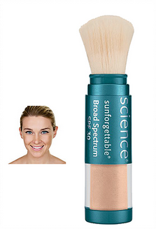 sunforgettable brush on sunscreen SPF 30- medium